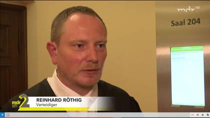Strafverteidiger Reinhard Röthig